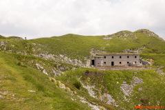 Stara vojaška utrdba Italijanske vojske.