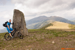Par metrov pred Palnockom je ta kamen